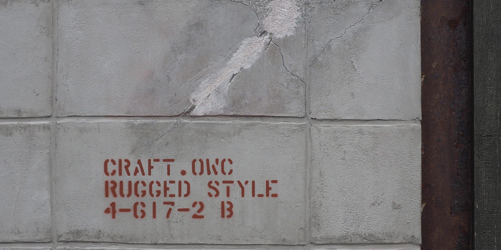 CRAFT.外壁画像