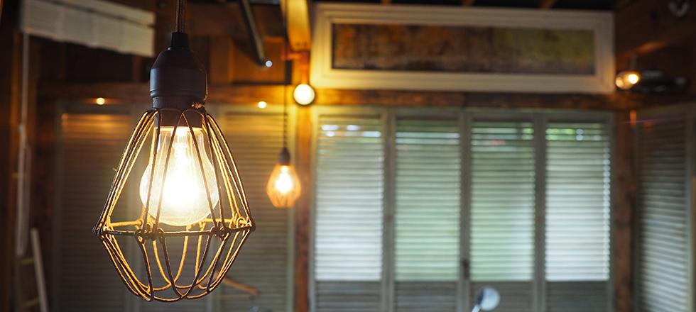 インダストリアルランプの画像
