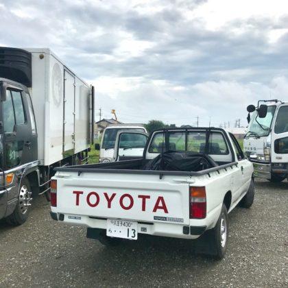 TOYOTAのトラック